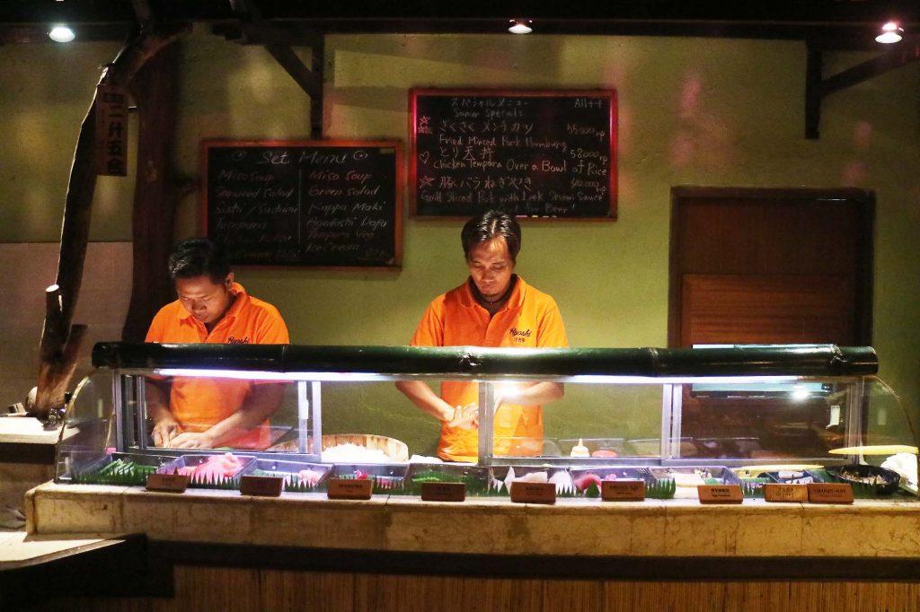 漁師ジャパニーズレストラン サヌール店