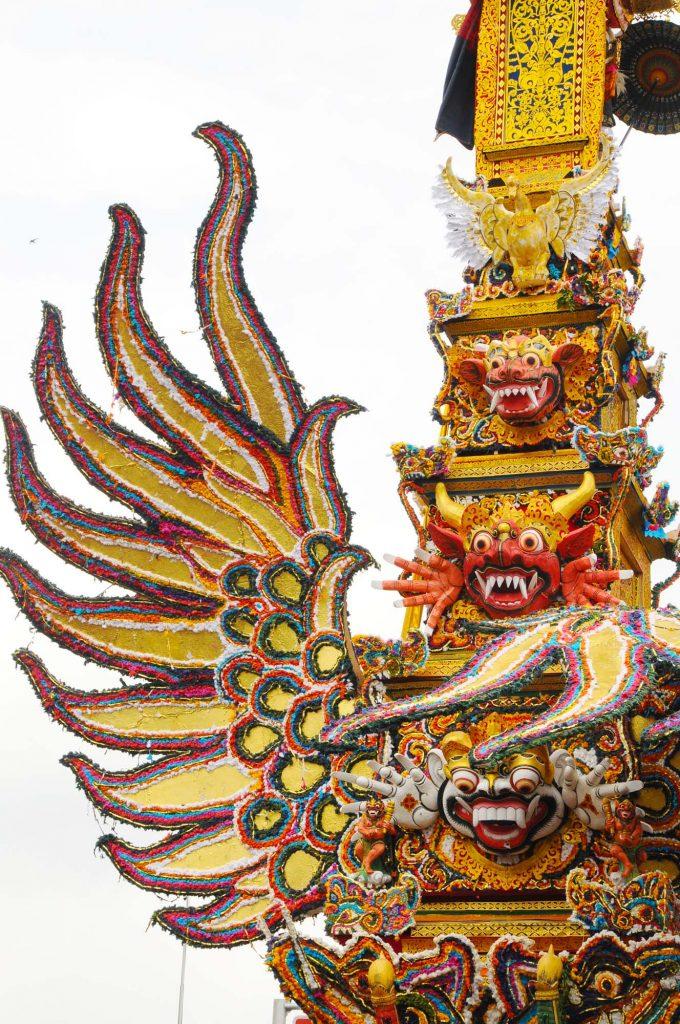 ウブド王宮 火葬式