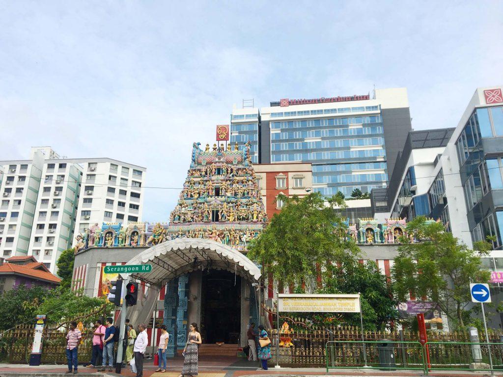 シンガポール「リトリインディア」