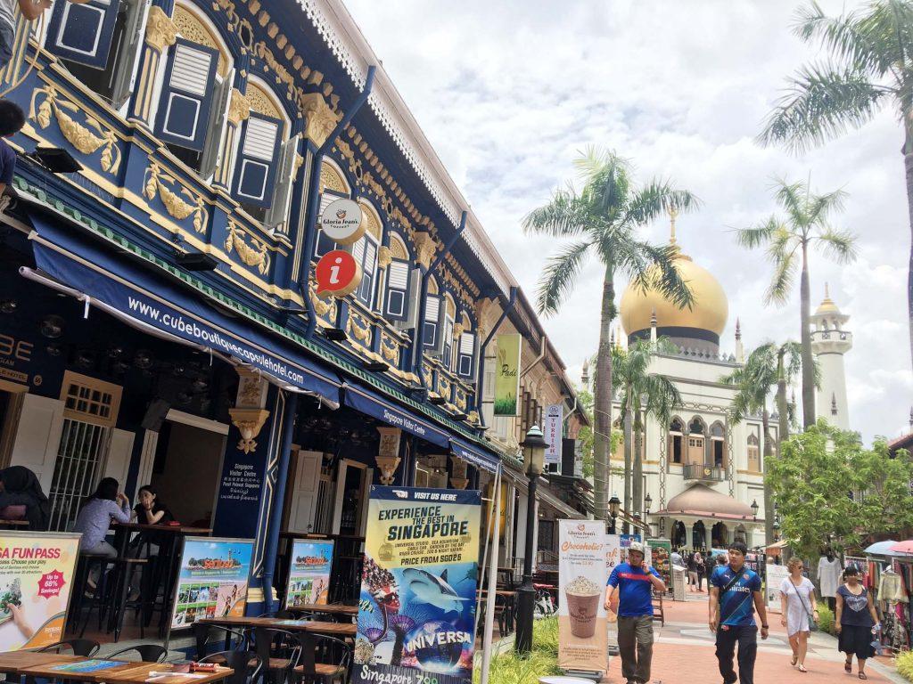 シンガポール イスラム教寺院「サルタン・モスク」