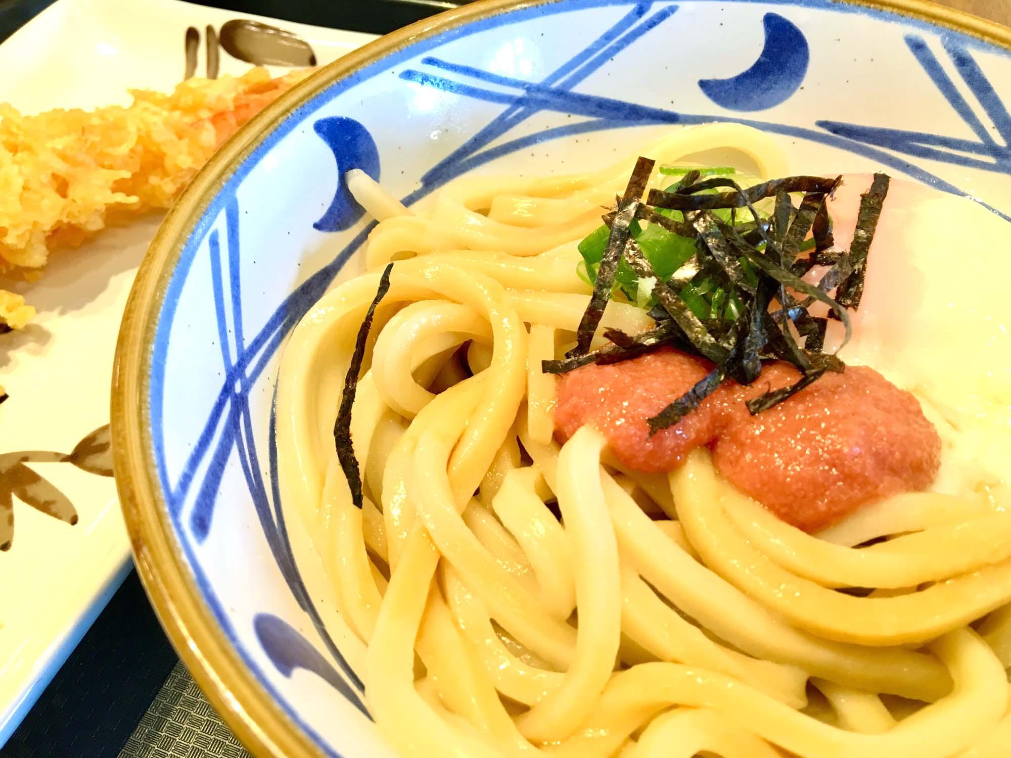クタの丸亀製麺