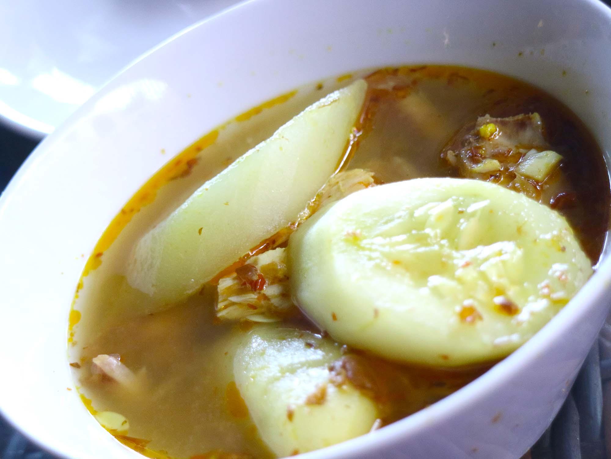 バリテイストのスープ