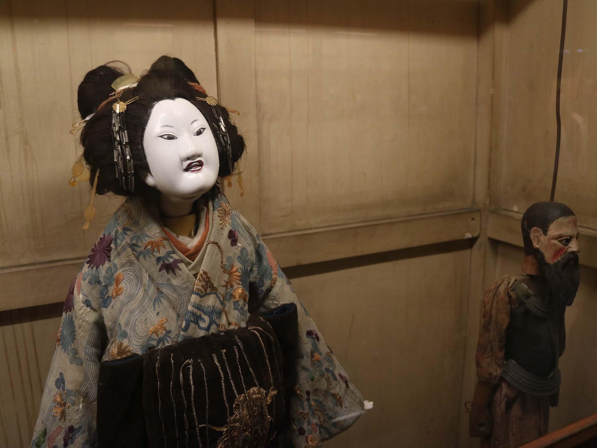 人形浄瑠璃文楽