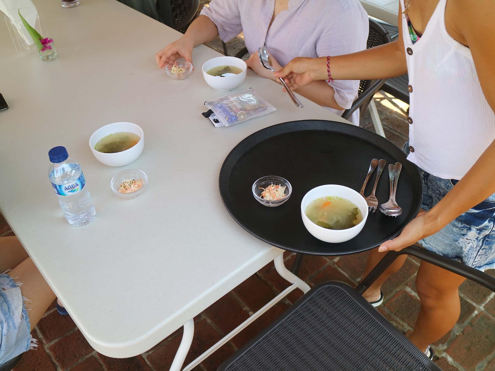 バリ島留学 昼食