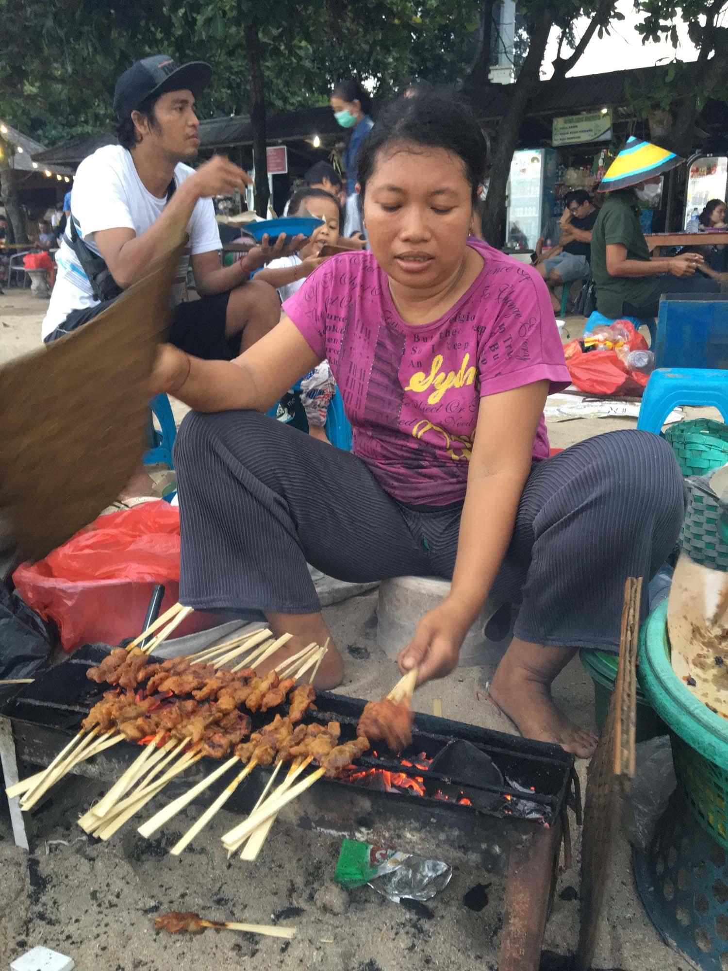 サテバビ 豚の串焼き