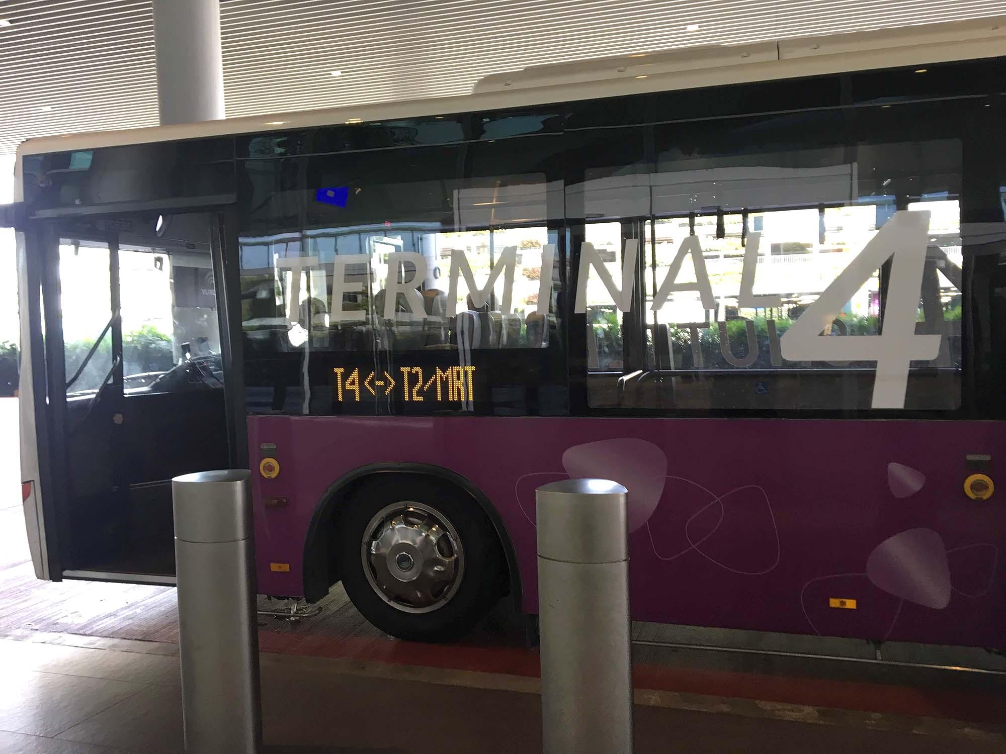 シンガポール空港 ターミナル4