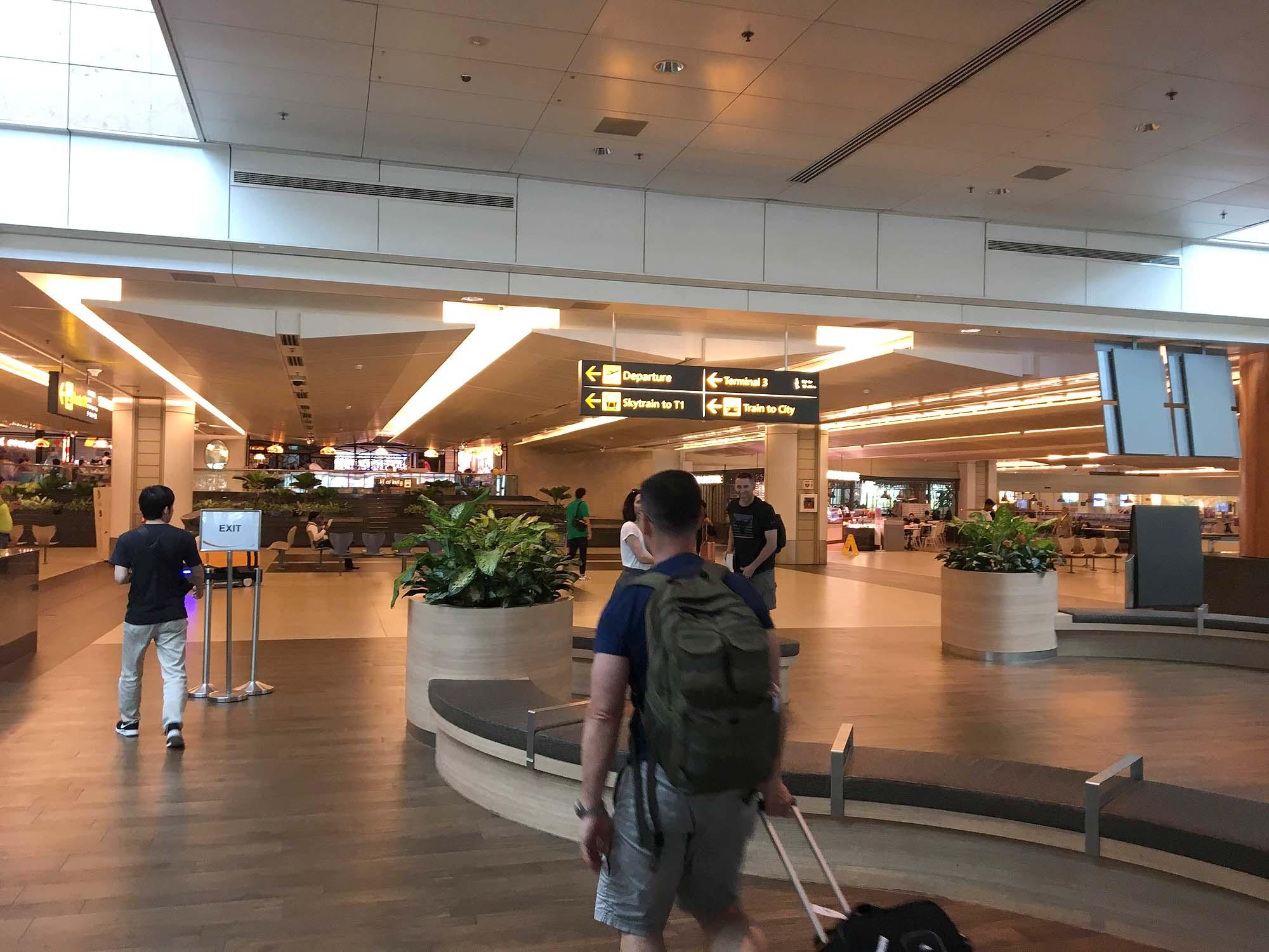 シンガポール空港 ターミナル2