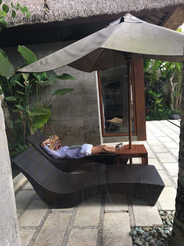 Luwak Ubud Villasでくつろぎタイム