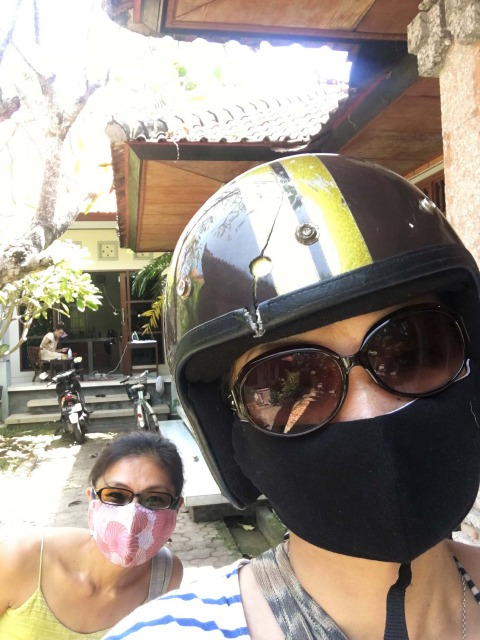 バリ島手作りマスク