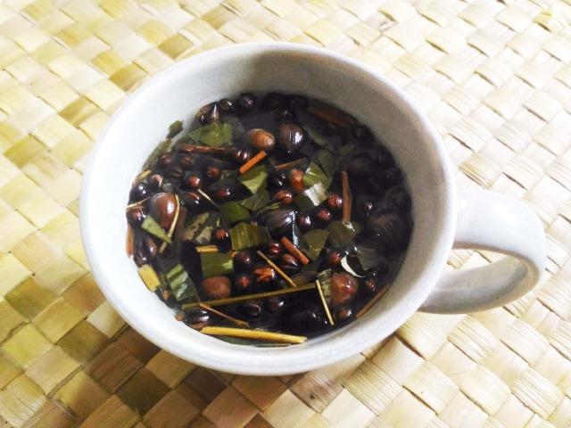 バリ島の変わったお茶