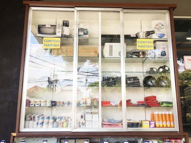 バリ島スーパーの景品